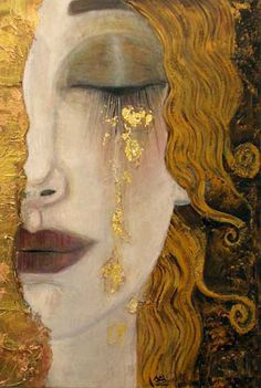 Anne Marie Zilberman ~ It is a wonderful reflection on womanhood, with tears of gold showing a brighter coming... ~bl~