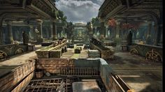 Gears of War 4: Relic Multiplayer Map Flythrough Take a detailed look at one Gears of War 4's multiplayer map. September 01 2016 at 08:15PM  https://www.youtube.com/user/ScottDogGaming