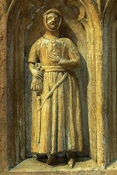 Detail from the tomb of Thomas de Beauchamp and wife Katherine Mortimer, Warwick, Warwickshire, c. 1369    http://professor-moriarty.com/info/section/church-monument-art/14th-century-church-monuments-thomas-beauchamp-tomb-warwick-warwickshire