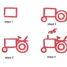 How to draw a tractor drawing lesson. Hellokids has selected lovely drawing lessons for you. There is the How to draw a tractor drawing lesson among . Drawing Lessons For Kids, Drawing Tutorials For Kids, Drawing Tips, Art Lessons, How To Draw Steps, Learn To Draw, Tractor Drawing, Tractors For Kids, Transportation For Kids