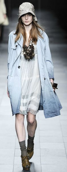 Burberry SS 2009 Dip Dye Trench