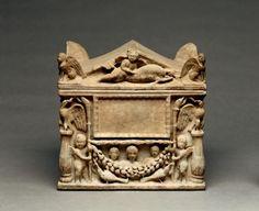 Cinerary box, Italy, 1st c. AD