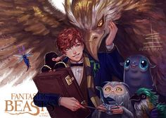 Pin by in theory on fantastic beasts in 2019 fantastic beast Arte Do Harry Potter, Always Harry Potter, Harry Potter Artwork, Harry Potter Anime, Harry Potter Universal, Harry Potter Fandom, Harry Potter World, Fantastic Beasts Fanart, Fantastic Beasts And Where