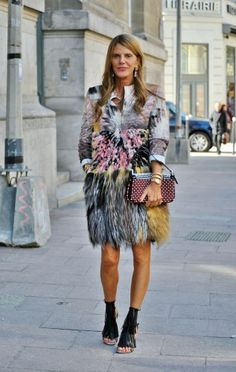 Anna Dello Russo - An outfit so crazy, lovely and fashionable it made my heart skip a little beat.