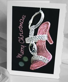 Christmas Greeting Card Cinderalla's Shoe  by HPaquinPhotography, $3.99