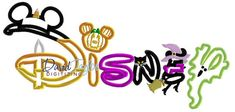 Disney  Halloween  Embroidery Machine Design  by DTDigitizing
