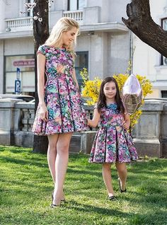 Modele de Rochii Identice Online pentru Mama si Fiica Mommy And Me, Summer Dresses, Shopping, Fashion, Moda, Summer Sundresses, Fashion Styles, Fashion Illustrations, Summer Clothing