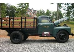 1950 ford stake truck