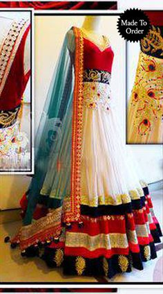 Fantastic White Premium Fabric Designer Replica Floor Length Anarkali Suit