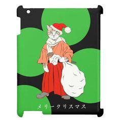 Samurai cats 1(三毛丸サンタ) iPad case