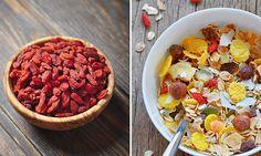 Superfood namens Goji! Nicht nur für Erwachsene, sondern auch für Kinder echt lecker! Superfood, Cobb Salad, Kids, Healthy Food