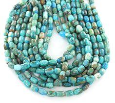 "PERUVIAN OPAL BEADS 8x12mm Barrel Beads Strand 14.5"""