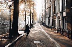 Image via We Heart It #amsterdam #city #europe #street #sun #T #loveamsterdam