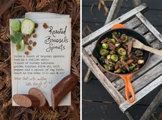 Roasted Brussels Sprouts with Turkey Sausage