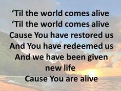 Come Alive - Jeremy Camp Jeremy Camp, Singing Hallelujah, Make A Joyful Noise, Christian Music, God Is Good, Lyrics, How Are You Feeling, Faith, Entertainment