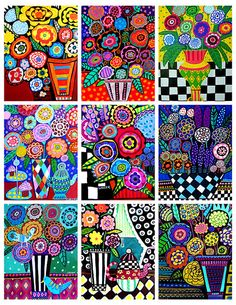 HEATHER GALLER Coloring Book Art Pages by HeatherGallerArt on Etsy