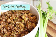 How to make Crock-Pot Stuffing! #Lilyshop