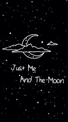 ☾Just me and the moon ☾