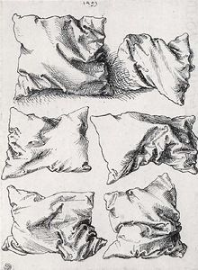 DRAWING artist: Albrecht Dürer, six pillows. I really like the simplicity of these drawings and the detail of the different positions. Albrecht Durer, Drawing Lessons, Drawing Techniques, Art Lessons, Inspiration Art, Art Inspo, Drawing Sketches, Art Drawings, Sketching