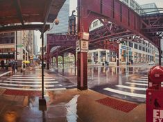 Chicago in the Rain | nathan walsh