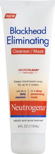 Neutrogena Blackhead Eliminating 2-1 Cleanser/Mask