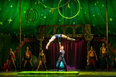 Sasha Allen as Leading Player and the cast of the National Tour of PIPPIN. Credit Terry Shapiro