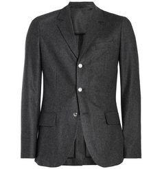 A.P.C. Wool-Flannel Suit Jacket   MR PORTER