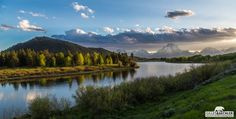 """""""Oxbow bend"""" Oxbow bend on the Snake river in Grand Teton National Park - Wyoming"""