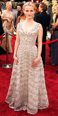 What The Winners Wore: 20 Years Of Best Actress Dresses - 2006, Reese Witherspoon for Walk the Line from #InStyle