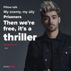 Zayn - Pillow Talk Lyrics  #Zayn #PillowTalk #Lyrics #ZaynMalik