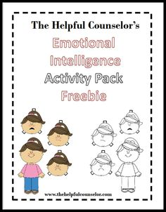 Emotional intelligence (EQ) development is important for all of our students. Learning about feelings: how we feel, what makes us feel the way we (and others) do, and what we can do to improve how we feel are life long skills. I have developed an Emotional Intelligence Paper Doll Activity …