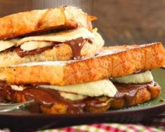 Easy, delicious and healthy ChefTanner Nutella Banana Stuffed French Toast recipe from SparkRecipes. See our top-rated recipes for ChefTanner Nutella Banana Stuffed French Toast. Breakfast For Kids, Breakfast Recipes, Breakfast Potluck, Breakfast Casserole, Breakfast Ideas, Nutella French Toast, Slow Cooker Breakfast, Banoffee Pie, Recipe Details