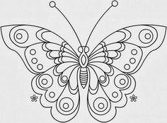 desenho de borboleta Mais