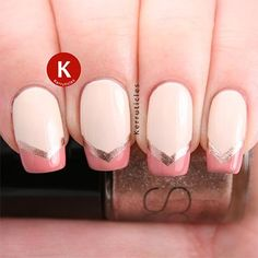 French Manicure Nail Designs: Beyond Boring White Tips | Divine Caroline