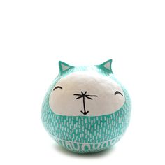Mint Gato Amulet – babasouk.ca : This friendly mint cat amulet will bring love, generosity, optimism and joy. It is not designed to be a toy because it's made of clay and it's a bit fragile...