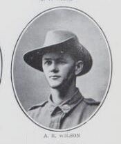 WILSON,   Andrew   Robinson.   Private,   No.  1766,   31st   Battalion.   Born   and   educated   at  Maryborough.   The   son   of   the   late   Thomas  Wilson   and   the   late   Annie   Cumming   Wilson.
