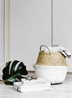 Trouva:  White Seagrass Storage Basket