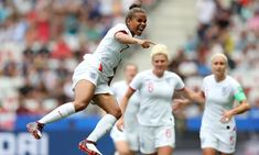Minute-by-minute report: England got off to a winning start as they survived a second-half rally by Scotland to claim three points in their World Cup opener England Ladies Football, Football Girls, Women's Football, Football Players, World Cup Games, First World Cup, England Players, Fifa Women's World Cup, World Cup