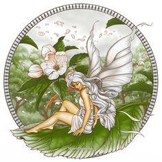 Apple Blossom Fairy by Manon Yapari
