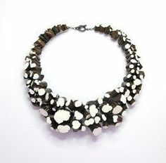 Necklace 'Stipjes', 2005-2012, by Terhi Tolvanen