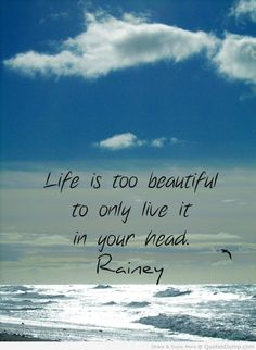 life Quotes life quote about nature and life with picture of the sea