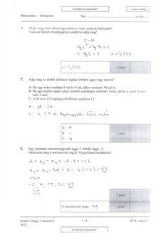 Itt vannak a középszintű matekérettségi megoldásai Diagram, Personalized Items, Trigonometry