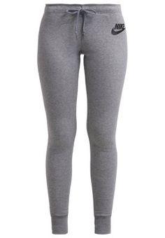 Nike Sportswear RALLY - Tracksuit bottoms - carbon/cool grey/black - Zalando.co.uk