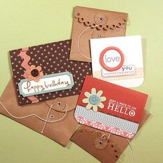 Three Small Cards « kwernerdesign blog