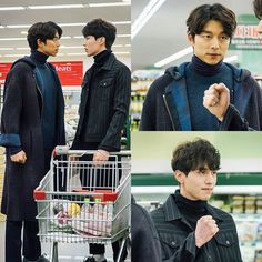 It's shopping time! Based on these stills, our favorites are going grocery shopping together. And we all know that you can't claim to be roomies if you haven't fought over the bra…