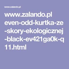 www.zalando.pl even-odd-kurtka-ze-skory-ekologicznej-black-ev421ga0k-q11.html