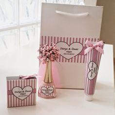 Bekarlığa Veda Partisi, Baby Shower Partisi, Kına Gecesi, Düğün gibi özel günler için kişiye özel hediyeler