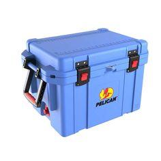 Pelican PEL-32-45Q-CC-LTBLU Pelican 45 Quart Elite Cooler - Lt Blue