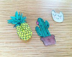 Quand je vous disais que l'essayer c'est l'adopter...... Trois autres petites créations en plastique dingue !!! Bon j'avoue pour le j'ai honteusement copié celui des #lespetitesdecoupes ☺️ il faut dire que le modèle est vraiment sympa  #ananas #pineapple #cactus #visage #plastiquedingue #cestmoiquilaifait #diy #mondiyamoi #ilikeit #nantes #vcreations #lescreationsdevirginie