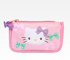 Hello Kitty Coin Purse Purple Ribbon -- More info could be found at the image url.Note:It is affiliate link to Amazon. #like